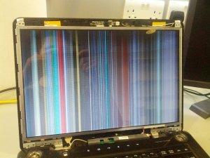 LCD CON SCHEDA ROTTA